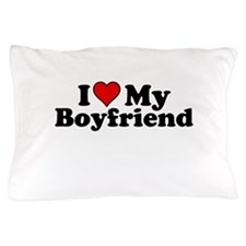 I Heart my Boyfriend Pillow Case