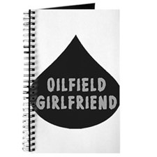 Oilfield Girlfirled Oil Drop Journal