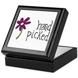 Hand Picked Keepsake Box