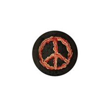 Peace of Bacon Mini Button (10 pack)