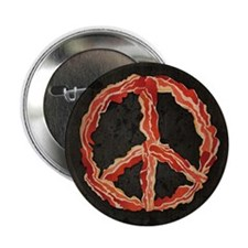 "Peace of Bacon 2.25"" Button (100 pack)"