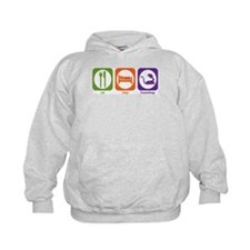Eat Sleep Herpetology Hoodie