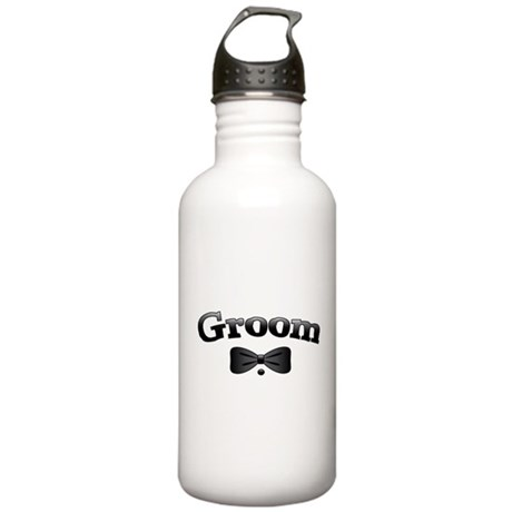 Tuxedo Groom Stainless Water Bottle 1.0L