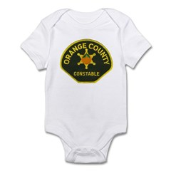 Orange County Constable Infant Bodysuit