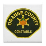 Orange County Constable Tile Coaster