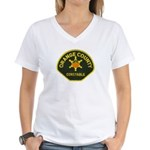 Orange County Constable Women's V-Neck T-Shirt