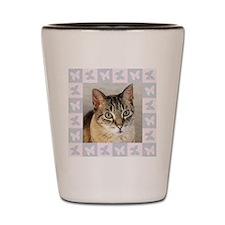 Hannah--Cat Portrait Shot Glass