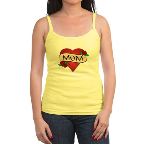 Mom Tattoo Jr. Spaghetti Tank