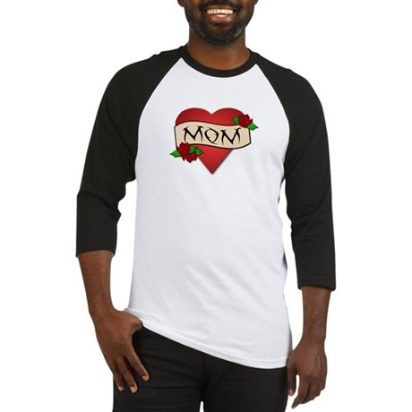 Mom Tattoo Baseball Jersey