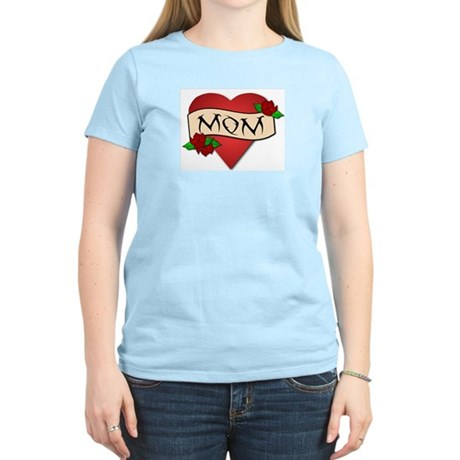 Mom Tattoo Women's Light T-Shirt