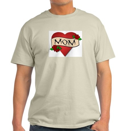 Mom Tattoo Light T-Shirt