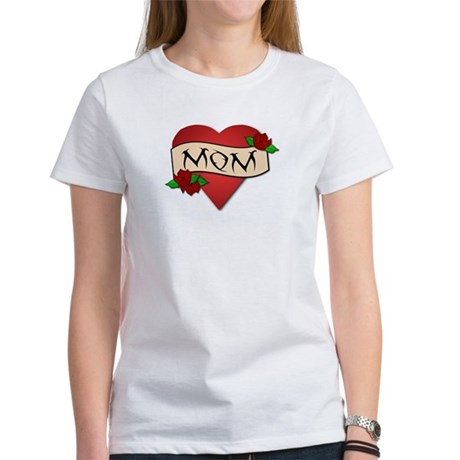 Mom Tattoo Women's T-Shirt