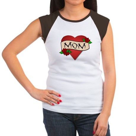 Mom Tattoo Women's Cap Sleeve T-Shirt