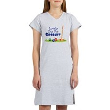 Lovely Day For CROQUET Women's Nightshirt