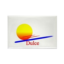 Dulce Rectangle Magnet