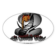 The Cobra Crew Oval Decal