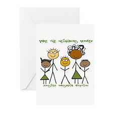 Make the neighbors wonder Greeting Cards (Package