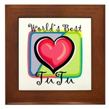 WB Grandma [Hawaiian] Framed Tile