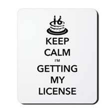 Keep Calm Sweet 16 Mousepad