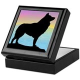 Seaside Schipperke Keepsake Box