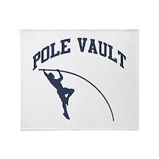 Pole Vault Throw Blanket