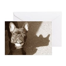 Sunny Frenchie.. Greeting Cards (Pk of 10)