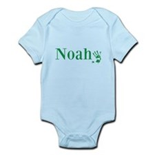 Green Noah Name Body Suit
