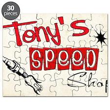 Tonys speed shop Puzzle