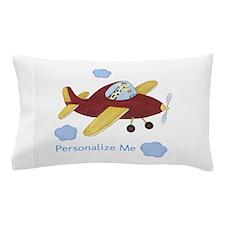 Airplane - Giraffe Pillow Case