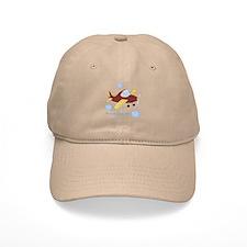 Personalized Airplane - Elephant Baseball Cap