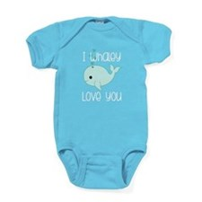 Whaley Love You Baby Bodysuit