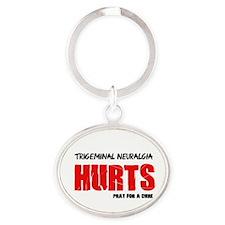 Trigeminal Neuralgia Hurts Pray For A Cure Keychai