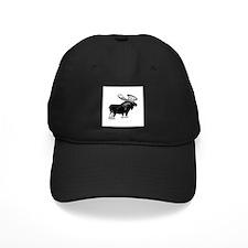 Bull Moose (illustration) Baseball Hat