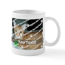 CUSTOMIZE Add 2 Photos 2 Texts Small Mugs