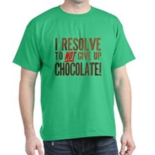 Chocolate Resolution T-Shirt