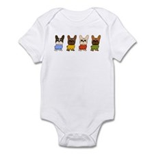 Dressed Lineup Infant Bodysuit
