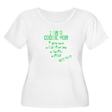 Cookie Mom Plus Size T-Shirt
