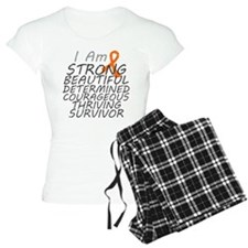 Kidney Cancer Strong Survivor Pajamas