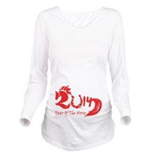 Lucky Horse Year 2014 Long Sleeve Maternity T-Shir