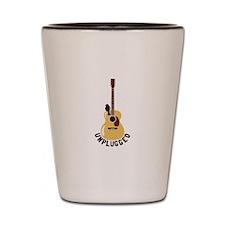Unplugged Shot Glass