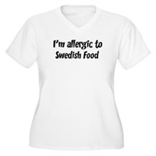 Allergic to Swedish Food T-Shirt