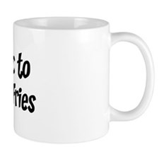 Allergic to Burger And Fries Mug