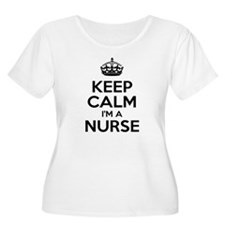 Keep Calm IM A Nurse Plus Size T-Shirt