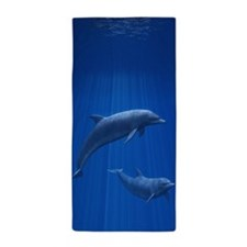 Dolphin Couple Beach Towel