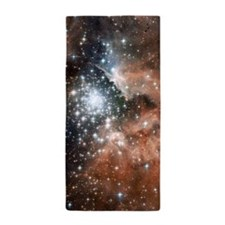 NGC3603 Nebula Beach Towel