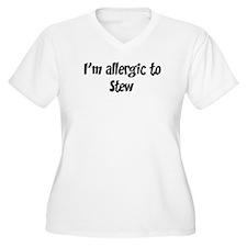 Allergic to Stew T-Shirt