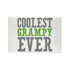 Coolest Grampy Ever Rectangle Magnet (10 pack)