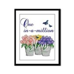 One in a Million Mom Framed Panel Print