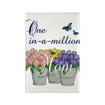 One in a Million Mom Rectangle Magnet