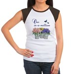 One in a Million Mom Women's Cap Sleeve T-Shirt